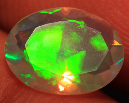 1.17 CT Contraluz!! Top Quality Welo Ethiopian Faceted Opal-CF288