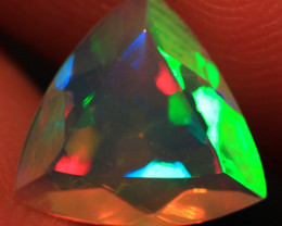 1.11 CT 9X9 MM Rare Quality AAA Welo Ethiopian Faceted Opal-CF298