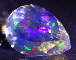 ContraLuz 8.57Ct Precision Master Cut Very Rare Species Opal DT003