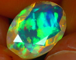 Welo Opal 1.38Ct Natural Ethiopian Play of Color Opal HR175/A44