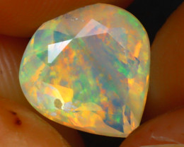 Welo Opal 1.40Ct Natural Ethiopian Play of Color Opal HR176/A44