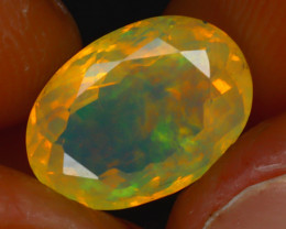 Welo Opal 2.78Ct Natural Ethiopian Play of Color Opal HR180/A44