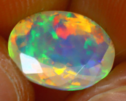 Welo Opal 1.57Ct Natural Ethiopian Play of Color Opal HR187