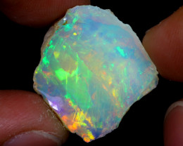 11cts Natural Ethiopian Welo Rough Opal / WR6901