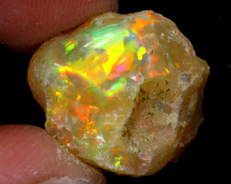 11cts Natural Ethiopian Welo Rough Opal / WR6906