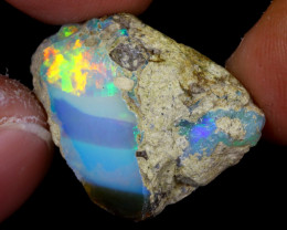 13cts Natural Ethiopian Welo Rough Opal / WR6914