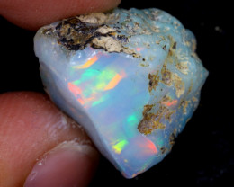 8cts Natural Ethiopian Welo Rough Opal / WR6919