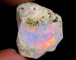 15cts Natural Ethiopian Welo Rough Opal / WR6937