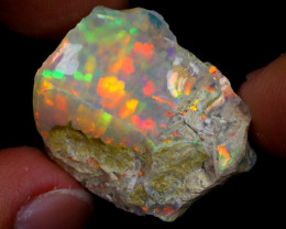27cts Natural Ethiopian Welo Rough Opal / WR6961