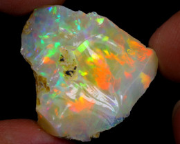 28cts Natural Ethiopian Welo Rough Opal / WR7003