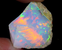 18cts Natural Ethiopian Welo Rough Opal / WR7004