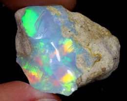 27cts Natural Ethiopian Welo Rough Opal / WR7007