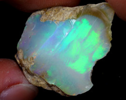 19cts Natural Ethiopian Welo Rough Opal / WR7008
