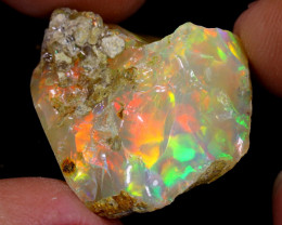 28cts Natural Ethiopian Welo Rough Opal / WR7011