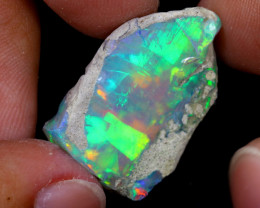 23cts Natural Ethiopian Welo Rough Opal / WR7012