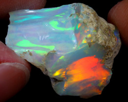 26cts Natural Ethiopian Welo Rough Opal / WR7014