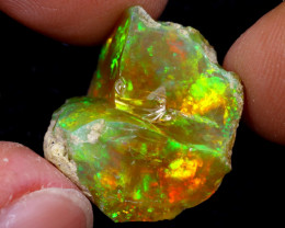 14cts Natural Ethiopian Welo Rough Opal / WR7015