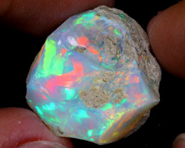 26cts Natural Ethiopian Welo Rough Opal / WR7019