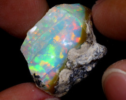 25cts Natural Ethiopian Welo Rough Opal / WR7020