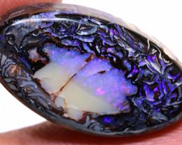 24.25 cts  Koroit Opal nut  Polished Stone AOH-243