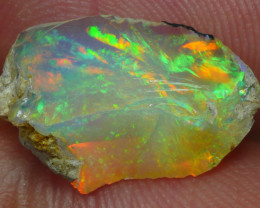 3.300 CRT WELO OPAL ROUGH MULTICOLOR ETHIOPIAN OPAL-