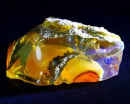 58Ct Ghost Phantom Gamble Rough Delanta Crystal Opal Rough E2402
