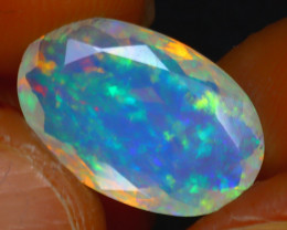 Welo Opal 2.38Ct Natural Ethiopian Play of Color Opal HR191/A44