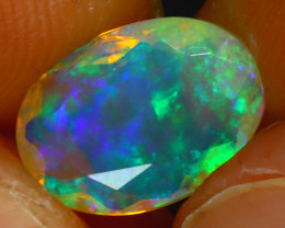 Welo Opal 1.72Ct Natural Ethiopian Play of Color Opal HR193/A44