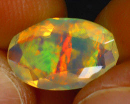 Welo Opal 2.23Ct Natural Ethiopian Play of Color Opal HR194/A44