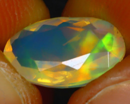 Welo Opal 1.95Ct Natural Ethiopian Play of Color Opal HR195/A44