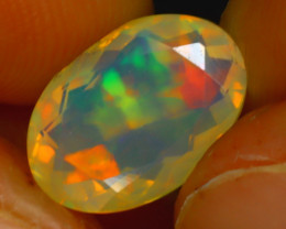 Welo Opal 2.27Ct Natural Ethiopian Play of Color Opal HR199/A44