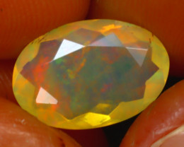 Welo Opal 2.50Ct Natural Ethiopian Play of Color Opal HR201/A44