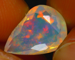 Welo Opal 2.20Ct Natural Ethiopian Play of Color Opal HR203/A44