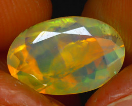 Welo Opal 2.11Ct Natural Ethiopian Play of Color Opal HR206/A44