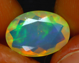 Welo Opal 1.82Ct Natural Ethiopian Play of Color Opal HR211/A44