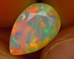 Welo Opal 2.70Ct Natural Ethiopian Play of Color Opal HR212/A44