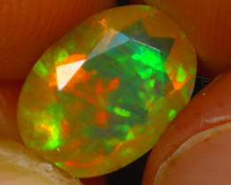 Welo Opal 1.65Ct Natural Ethiopian Play of Color Opal HR214/A44