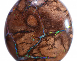 45.00 CTS OVAL BOULDER OPAL FROM KOROIT [BMB903]
