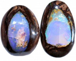 67.00 CTS FRACTURED BOULDER OPAL FROM KOROIT [BMB908]