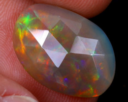 Rose Cut 3.58cts Natural Ethiopian Welo Opal / NY1758