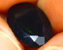 Welo Opal 2.38Ct Natural Ethiopian Smoked Welo Opal J2801/A28