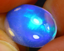 Welo Opal 2.75Ct Natural Ethiopian Play of Color Opal J2804/A57