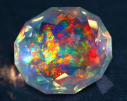 ContraLuz 11.85Ct Precision Master Cut Very Rare Species Opal DT017