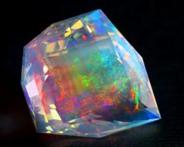 ContraLuz 15.10Ct Precision Master Cut Very Rare Species Opal DT018