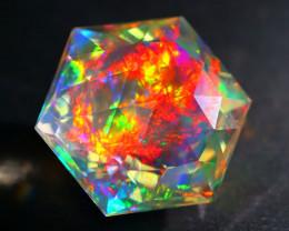 ContraLuz 8.95Ct Precision Master Cut Very Rare Species Opal DT019