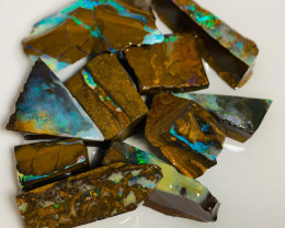 Multicolour Winton Boulder Opal Rough to Cut Nice Stones