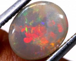 N6-  1.05 cts dark opal stone lightning ridge  TBO-A3078