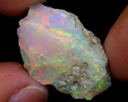 12cts Natural Ethiopian Welo Rough Opal / WR7031