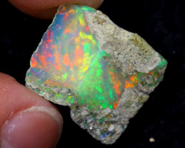 6cts Natural Ethiopian Welo Rough Opal / WR7050