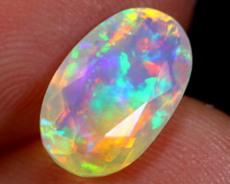 1.94cts Natural Ethiopian Faceted Welo Opal /BF6383